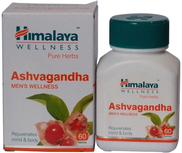 Ashwagandha capsules himalaya herbals withania