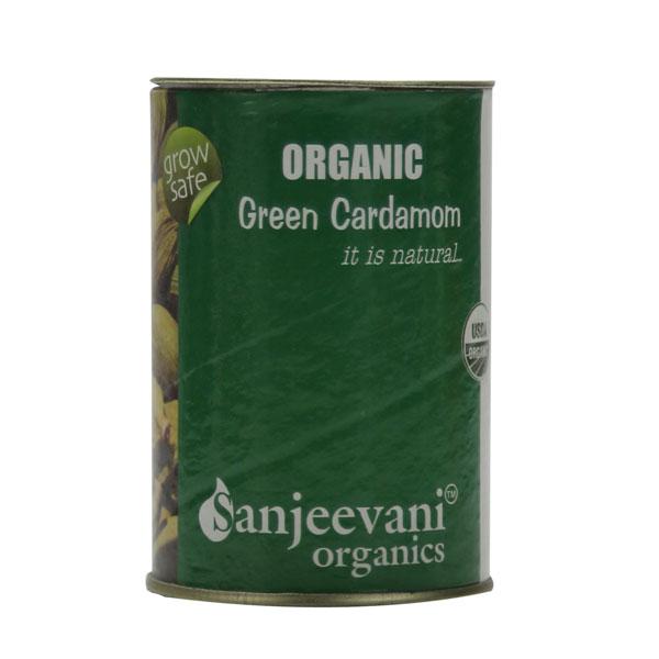 Organic Green Cardamom Whole 20 G Usda Certified
