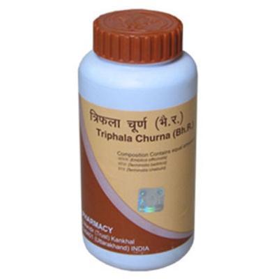 how to use triphala churna
