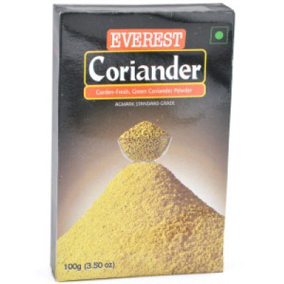 how to make coriander powder tea