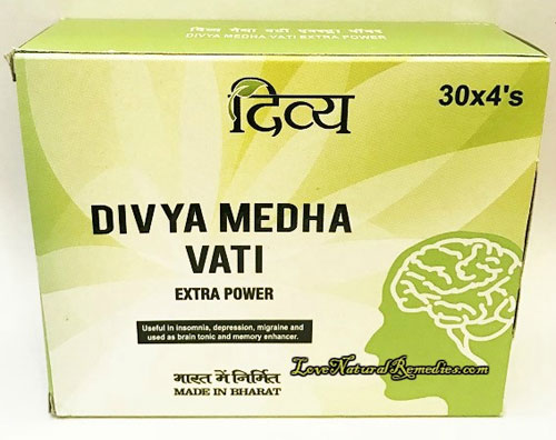 Divya Medha Vati Ayurvedic Formula For Memory Loss 60tablets From India Worldwide Delivery
