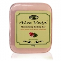 Bathing Bar - Wild Rose w-Basil (Aloe Veda)
