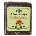 Bathing Bar - Chocolate & Coffee Scrub (Aloe Veda)