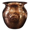 Copper Lota with OM