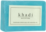 Handmade Herbal Soap - Pure Mint (Khadi Cosmetics)