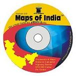 Maps of India CD