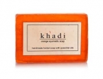 Handmade Herbal Soap - Orange Ayurvedic (Khadi Cos
