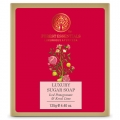 Luxury Sugar Soap Iced Pomegranate with Kerala Lim